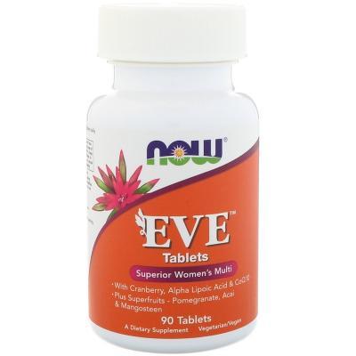 Ева (EVE) женские мультивитамины, 90 таблеток