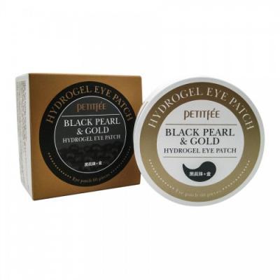 Black Pearl/Gold Hydrogel Eye Patch / Набор патчей для век гидрогелевых ЖЕМЧУГ/ЗОЛОТО, 60 шт