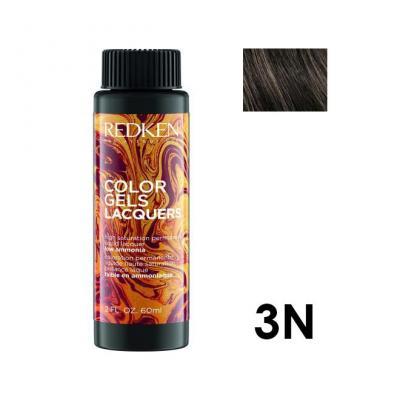 Color Gels Lacquers 3N / Перманентный краситель-лак тон 3N, 3*60мл