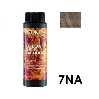 Color Gels Lacquers 7NA / Перманентный краситель-лак тон 7NA, 3*60мл