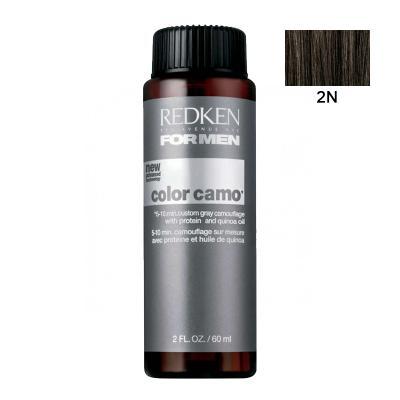 Color Camo 2N / Камуфляж для волос, тон Темный натуральный, 60мл