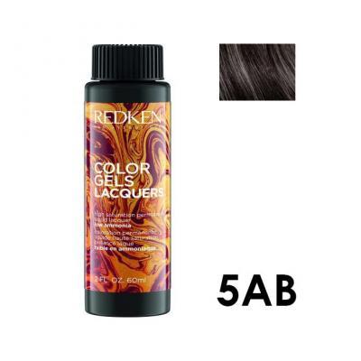 Color Gels Lacquers 5AB / Перманентный краситель-лак тон 5AB, 3*60мл
