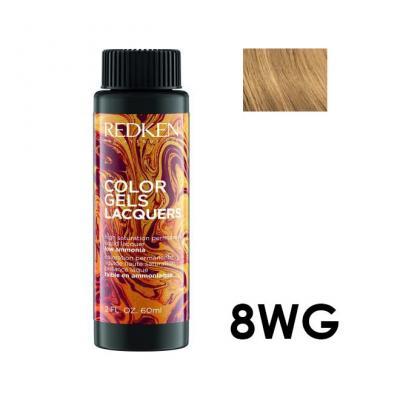 Color Gels Lacquers 8WG / Перманентный краситель-лак тон 8WG, 3*60мл