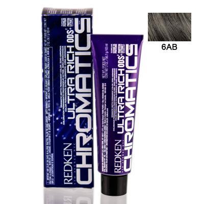 Chromatics Ultra Rich 6AB / Краска для волос, тон Пепельный голубой, 60мл