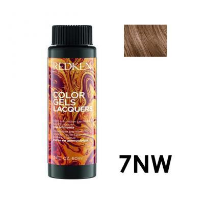 Color Gels Lacquers 7NW / Перманентный краситель-лак тон 7NW, 3*60мл