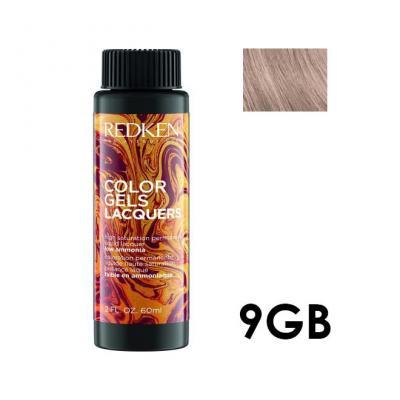 Color Gels Lacquers 9GB / Перманентный краситель-лак тон 9GB, 3*60мл