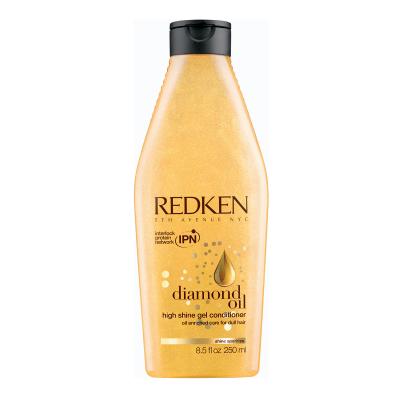Diamond Oil High Shine Кондиционер для тонких волос, обогащенный маслами, 250мл