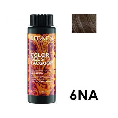 Color Gels Lacquers 6NA / Перманентный краситель-лак тон 6NA, 3*60мл