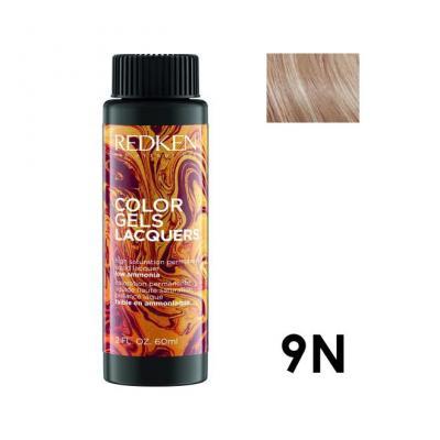Color Gels Lacquers 9N / Перманентный краситель-лак тон 9N, 3*60мл