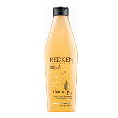 Diamond Oil High Shine Шампунь для тонких волос, обогащенный маслами, 300мл