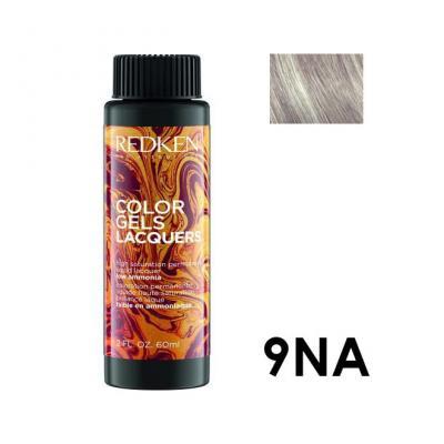 Color Gels Lacquers 9NA / Перманентный краситель-лак тон 9NA, 3*60мл