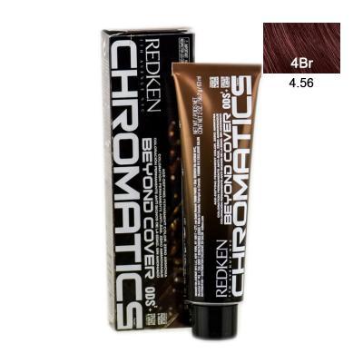 Chromatics Beyond Cover 4.56/4Br / Краска для волос без аммиака, тон Красный коричневый, 60мл