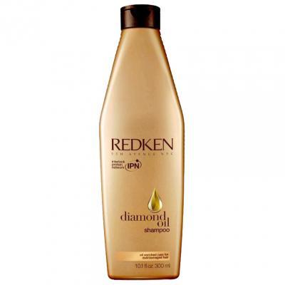 Diamond Oil Шампунь для блеска и силы волос, 300мл