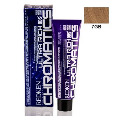 Chromatics Ultra Rich 7GB / Краска для волос, тон Золотистый бежевый, 60мл