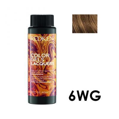 Color Gels Lacquers 6WG / Перманентный краситель-лак тон 6WG, 3*60мл