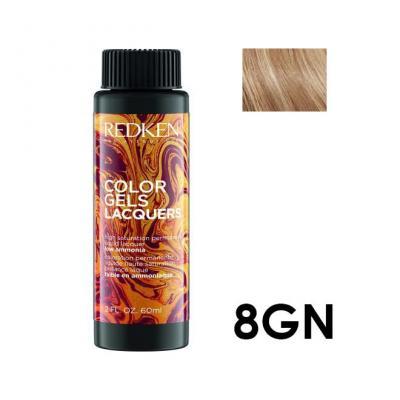 Color Gels Lacquers 8GN / Перманентный краситель-лак тон 8GN, 3*60мл