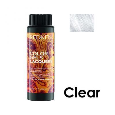 Color Gels Lacquers Clear / Перманентный краситель-лак тон Чистый, 3*60мл