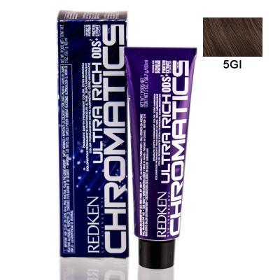Chromatics Ultra Rich 5GI / Краска для волос, тон Золотой мерцающий, 60мл