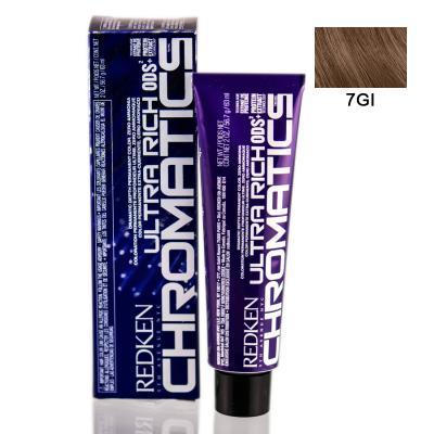 Chromatics Ultra Rich 7GI / Краска для волос, тон Золотой мерцающий, 60мл