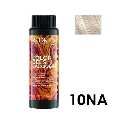 Color Gels Lacquers 10NA / Перманентный краситель-лак тон 10NA, 3*60мл