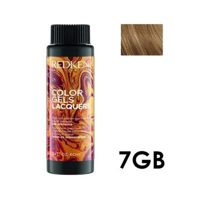 Color Gels Lacquers 7GB / Перманентный краситель-лак тон 7GB, 3*60мл
