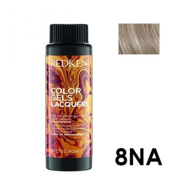 Color Gels Lacquers 8NA / Перманентный краситель-лак тон 8NA, 3*60мл
