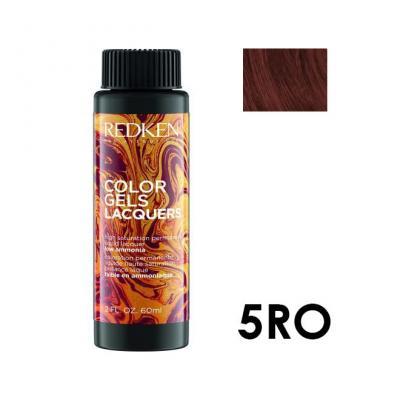 Color Gels Lacquers 5RO / Перманентный краситель-лак тон 5RO, 3*60мл