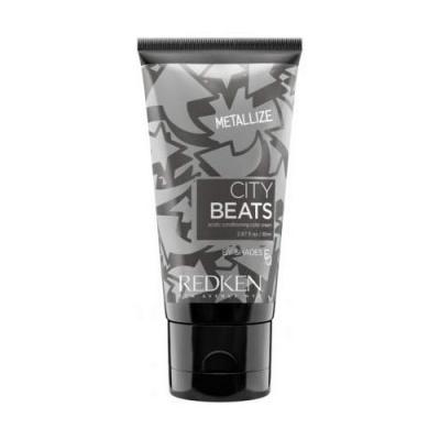 City Beats Color Cream / Крем для волос с тонирующим эффектом Серебрянный Металик, 85 мл