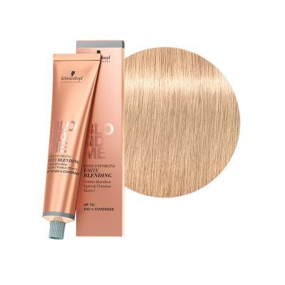 BlondMe White Blending Sand / Осветляющий крем для седых волос Песок, 60 мл