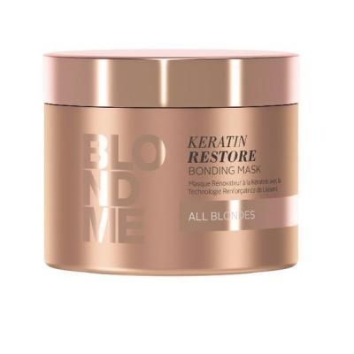 BlondMe Keratin Restore Bonding Mask / Бондинг-маска кератиновое восстановление для волос блонд, 200 мл