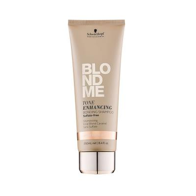 BlondMe Tone Enhancing Bonding Shampoo Cool / Бондинг-шампунь для поддержания холодных оттенков блонд, 250 мл