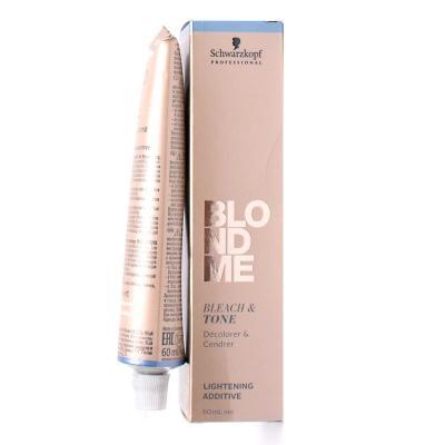 BlondMe Bleach&Tone Rose / Пастельный нейтрализующий тонер для обесцвечивания, 60 мл
