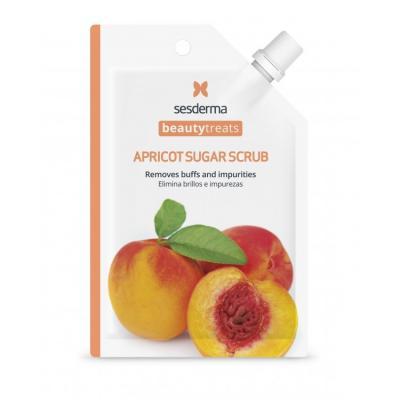 BEAUTYTREATS Apricot sugar scrub mask – Маска-скраб для лица, 1 шт