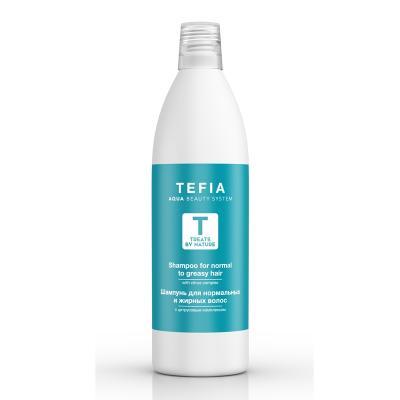 Treats By Nature Шампунь для нормальных и жирных волос с цитрусовым комплексом, 1000мл