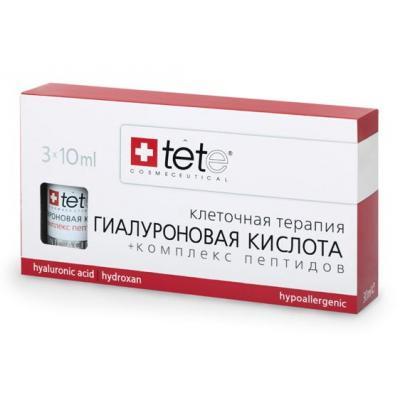 Гиалуроновая кислота + Комплекс пептидов, 3*10мл
