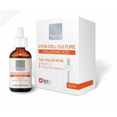 Vitamin C moisturizer solution / Гидратирующая сыворотка с витамином C Защита от старения, 30мл