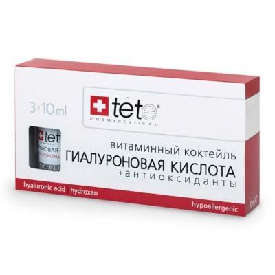 Гиалуроновая кислота + антиоксиданты, 3*10мл
