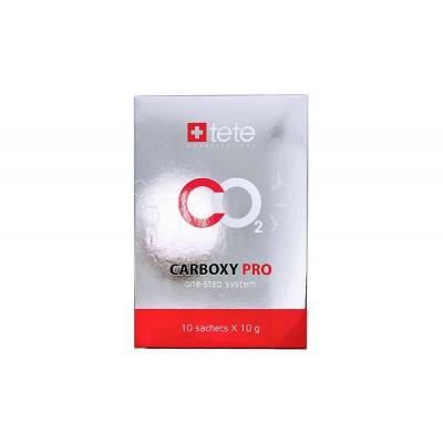 Одношаговая карбокси терапия TETE / CARBOXY PRO one-step, 10 саше по 10 гр