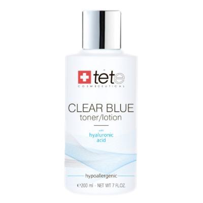 Clear Blue Toner/Lotion with hyaluronic acid / Тоник/лосьон с гиалуроновой кислотой, 200мл