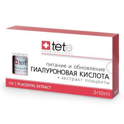 Гиалуронова кислота + Экстракт Плаценты, 3*10мл