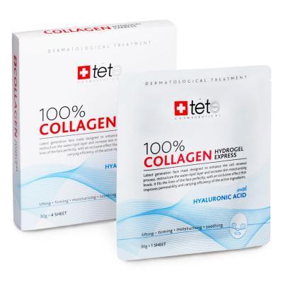 100% Collagen Hydrogel Express Mask / Гидроколлагеновая маска. Экспресс-уход, 1шт