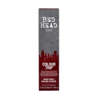Bed Head Color Trip Тонирующий гель для волос, тон Тёмно-Красный, 90мл