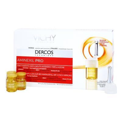 Aminexil Pro / Интенсивное ср-во против выпадения волос для женщин, 2 упаковки по 18 ампул
